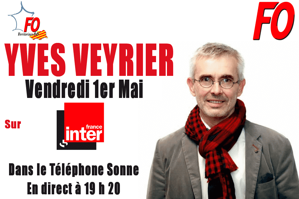 Yves Veyrier sur France Inter le 1er mai