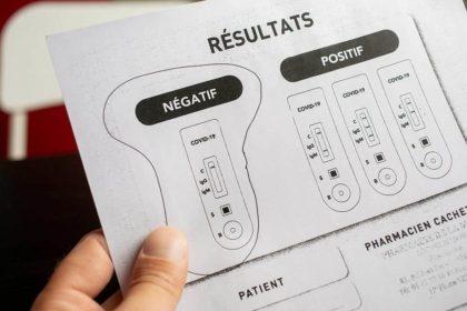Img Actus Test Negatif