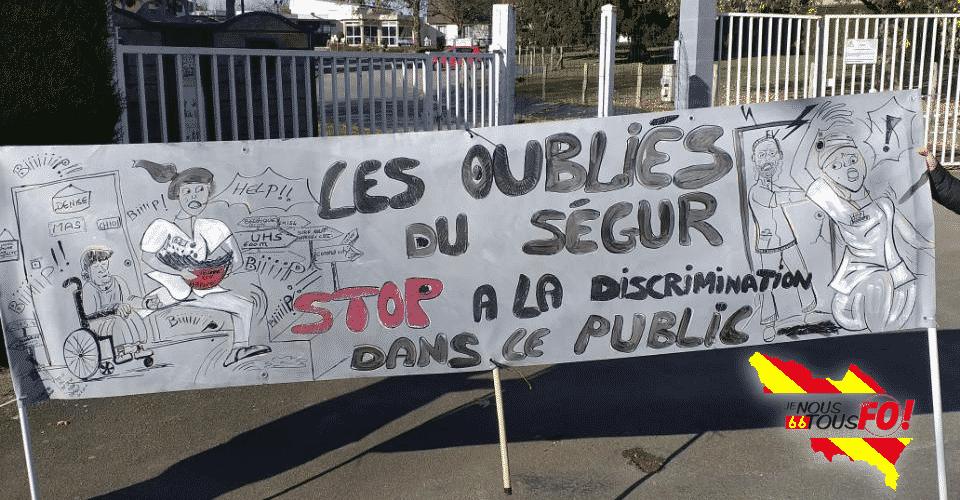 Le 8 décembre : Tous en grève et dans l'action ! Pour l'extension des mesures du « Ségur » à tous les agents du Social et Médico-Social Publics et Privés