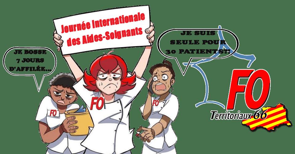 Jeudi 26 novembre : Journée internationale des aides-soignants