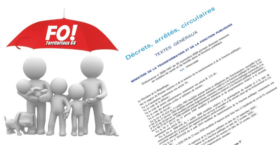 Les mesures en matière de santé et de famille dans la fonction publique sont publiées