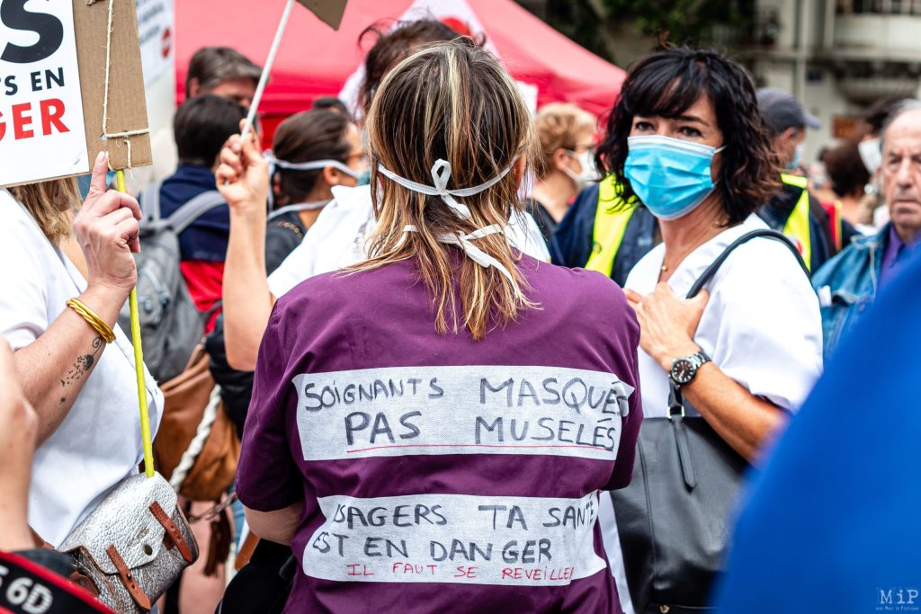 16 06 2020 Perpignan France Manifestation Soignants Hopital Public Et Prive © Arnaud Le Vu Mip Apm 06 2020 06 16 10 55 Scaled 1
