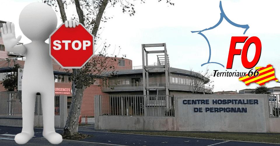 L'Hôpital de Perpignan interdit les visites à cause de l'épidémie