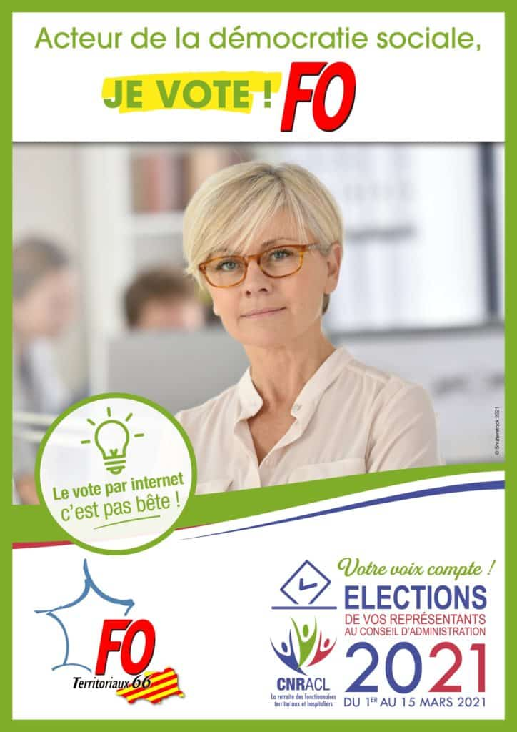 affiches elections cnracl