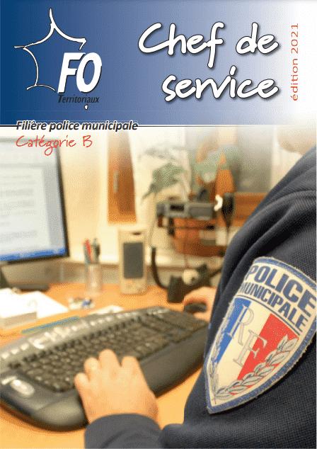 chef service police municipale