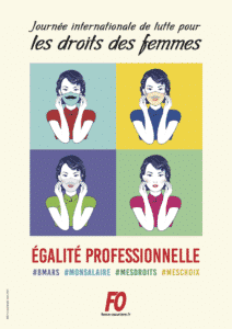 affiche egalite professionnelle masque andy 080321
