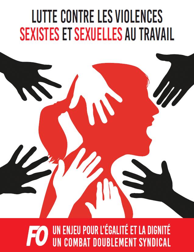 tract lutte violences sexistes sexuelles travail